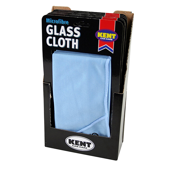 Kent Car Care Microfibre Glass Cloth ca.40x40 cms
