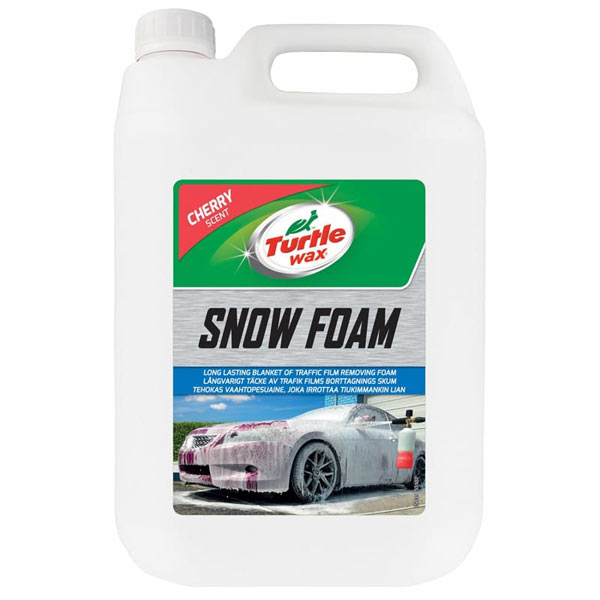 Turtlewax Cherry Snow Foam 5Ltr