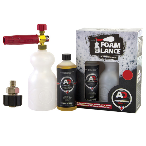 Autobrite Snow Foam Lance (for Karcher HDS professional series) with 500ml Magifoam
