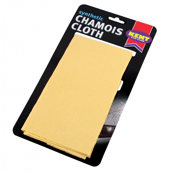 Kent Car Care Perforated Synthetic Chamois on Card