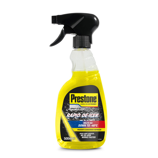 Prestone De-Icer Trigger Spray Bottle 500ml
