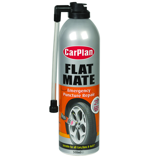 Carplan Flat Mate - Emergency Tyre Repair 500ml