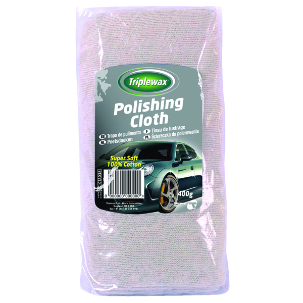 Triplewax Polishing Cloth 400g