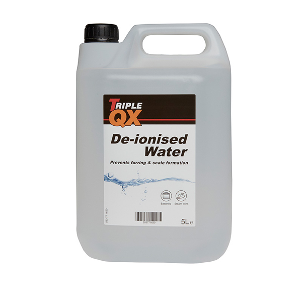 TRIPLE QX De-Ionised Water 5Ltr