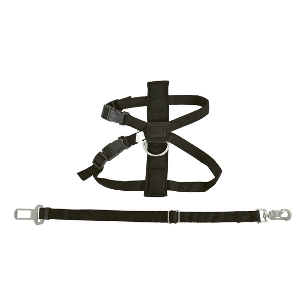 Pet Harness With Seat Belt Anchor Small
