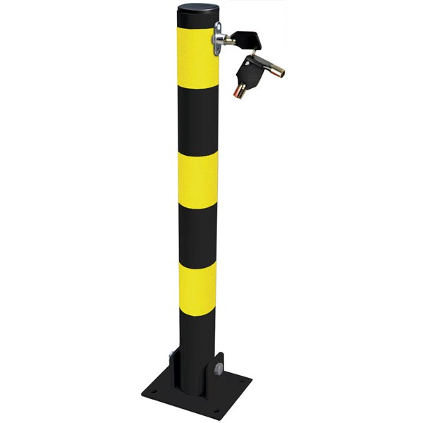 Streetwize Folding Parking Post (Round)