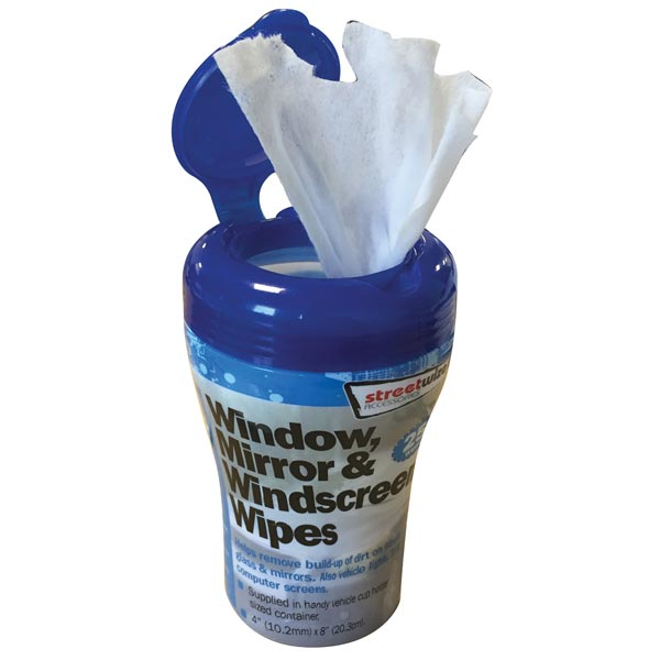 Streetwize PDQ of 6 - 30pcs Wet Wipes