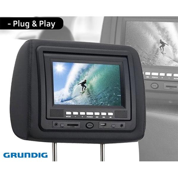 Headrest DVD Player & TFT Display
