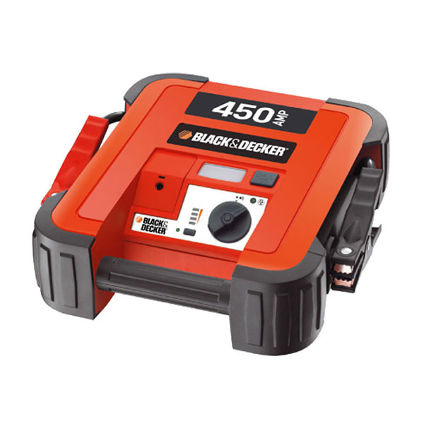 Black & Decker Instant Start Booster Pack - 450amp with light