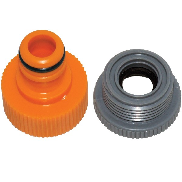 "Am-Tech 1/2"" - 3/4"" Garden Tap Adapter & Reducer"