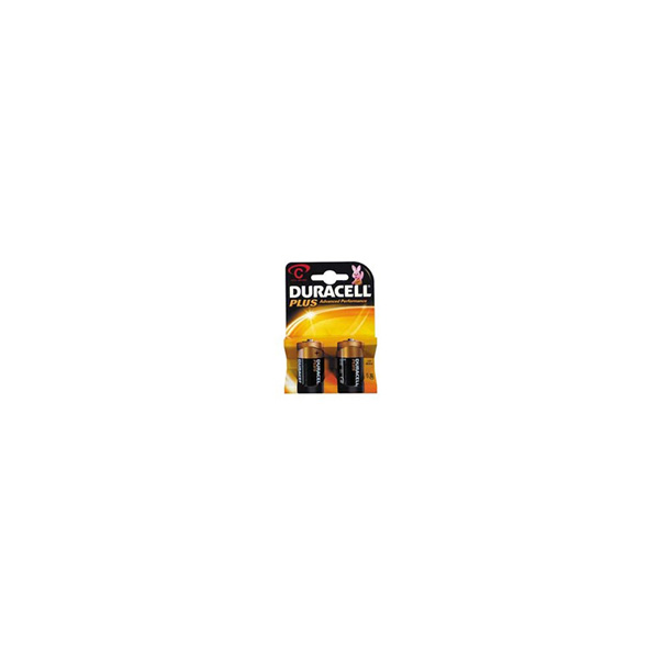 Duracell Plus Power Duralock C Card of 2