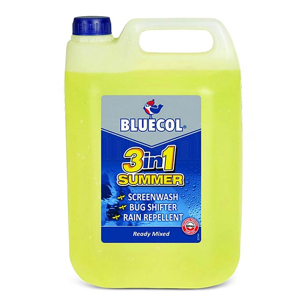 Bluecol Ready Mix Screenwash 1Ltrs Summer Season