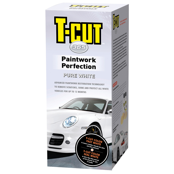 T-Cut Paintwork Perfection Kit - White