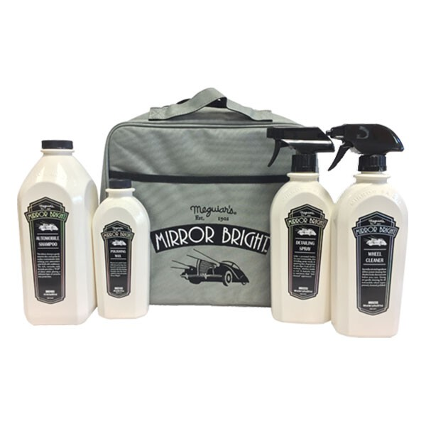 Meguiars Mirror Bright Deluxe 4pc Valeting Kit