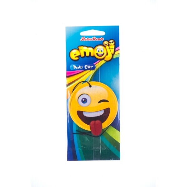 Emoji Wink Air Freshener New Car Scent