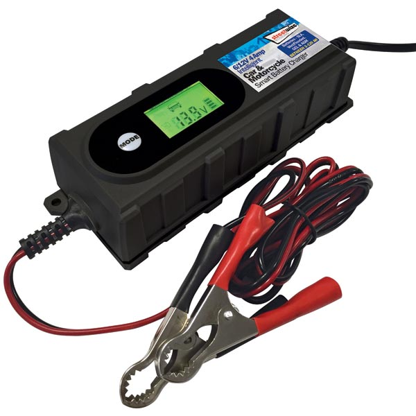 Streetwize 6/12V 4 Amp Smart Battery Charger