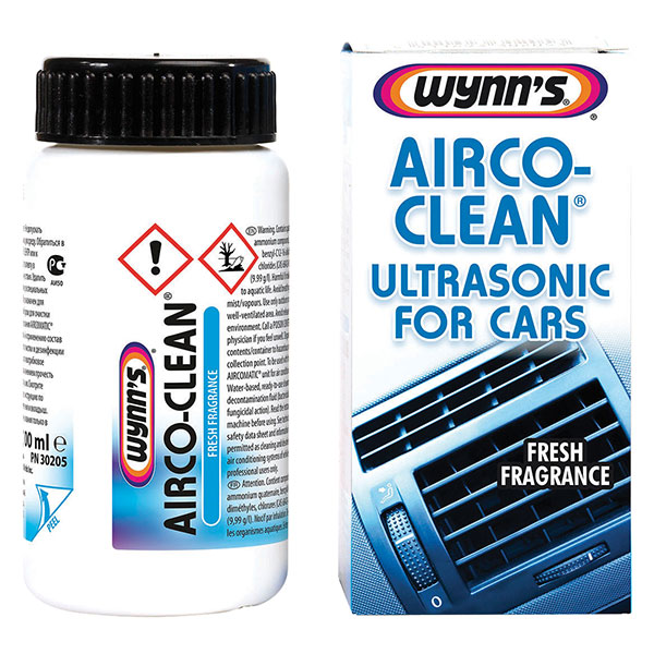 Wynns Aircoclean Ultrasonic For Car 100ml
