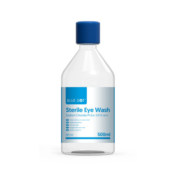 500ml Eyewash Solution Single Bottle