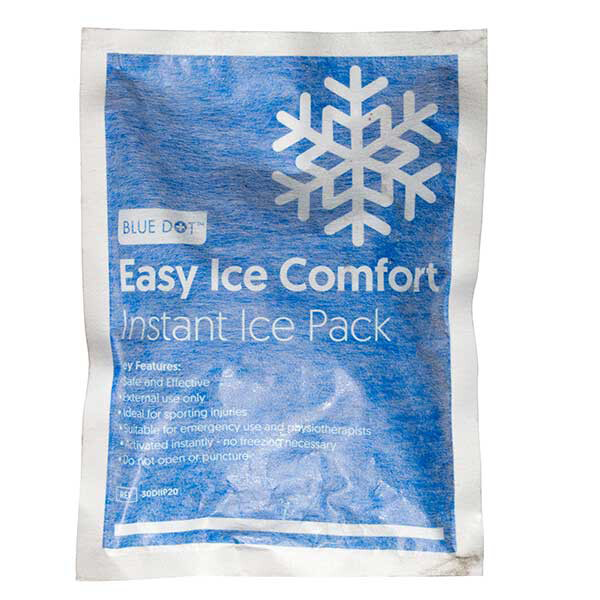 Blue Dot Comfort Instant Ice Pack 200mm x 150mm