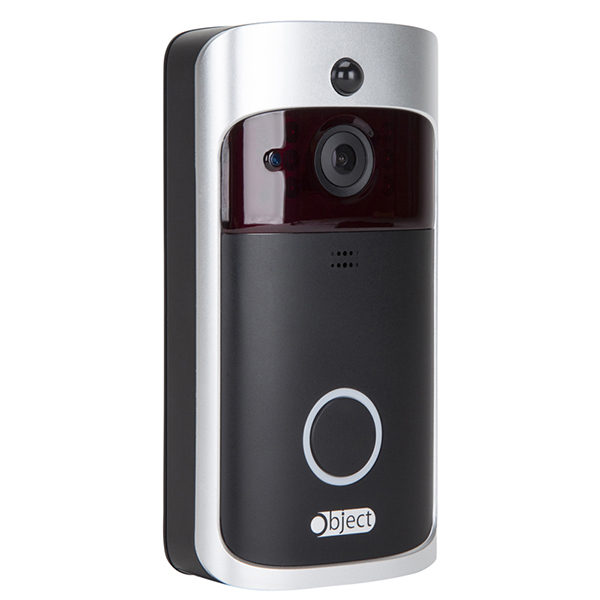 Object Object Wireless Video Doorbell without Chime