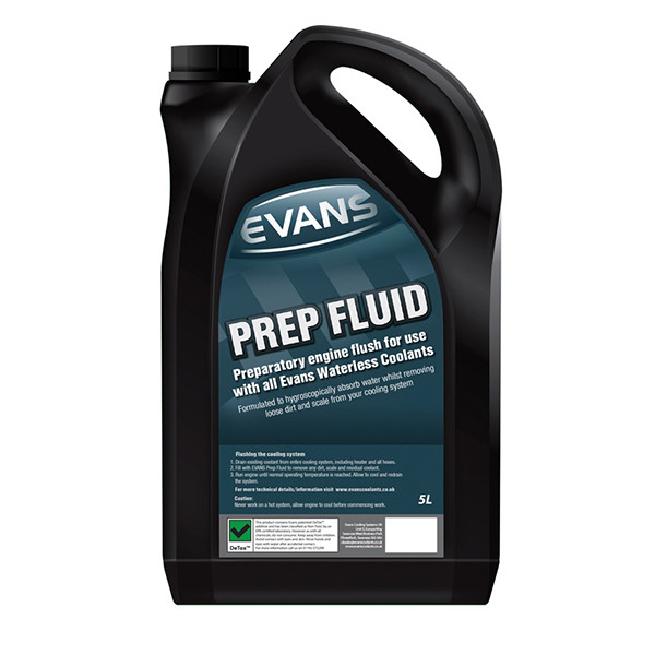 Evans Prep Fluid (Use Before Waterless Coolant) 5Ltr