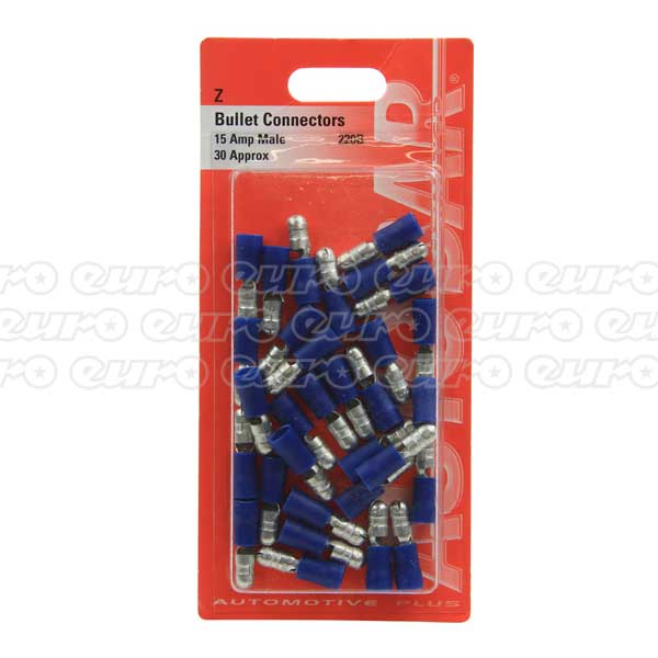 Male Bullets 15 Amp - 30 Pack