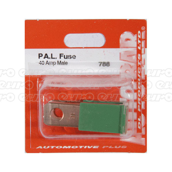 PAL Fuse Male 40amp Single