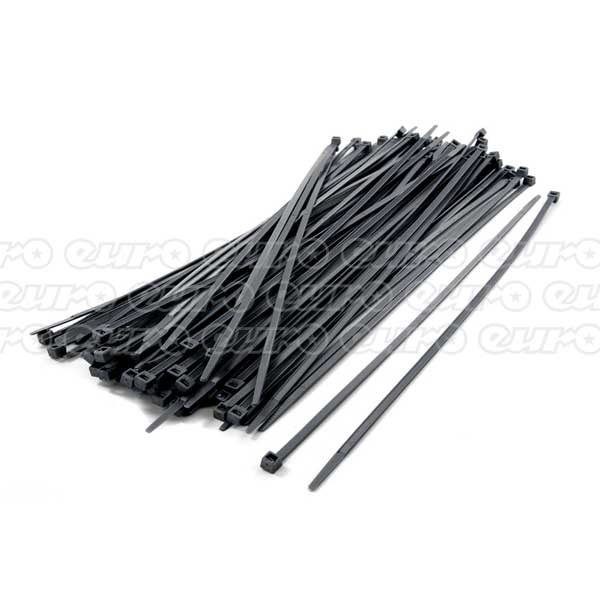 Silver Cable Ties Bulk Pack of 100