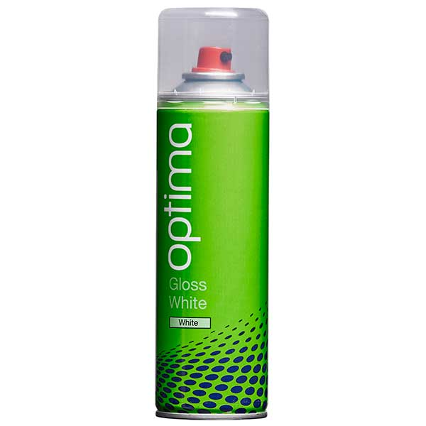 Optima Gloss White Aerosol (300ml)