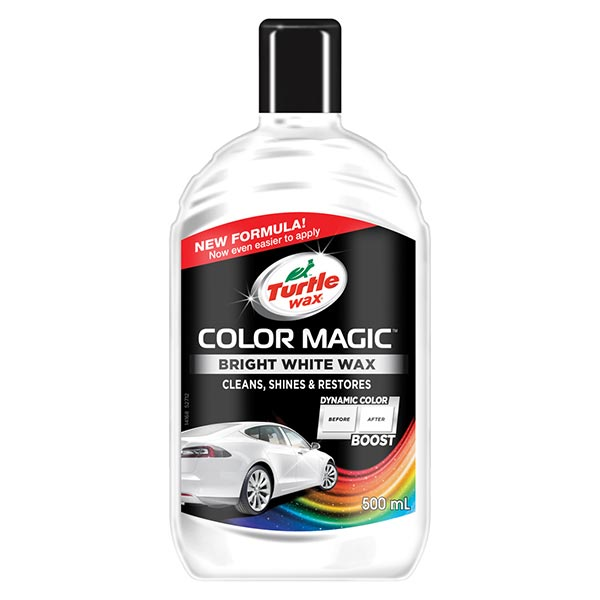 Turtlewax Color Magic Bright White